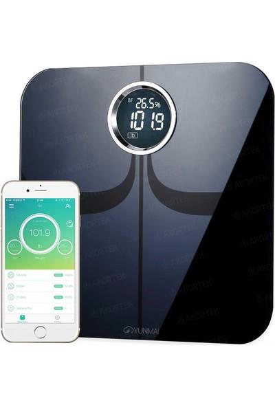 Yunmai Premium 1301 Vücut Analizli ITO Panel Bluetooth Akıllı Tartı (YUM1301BT)