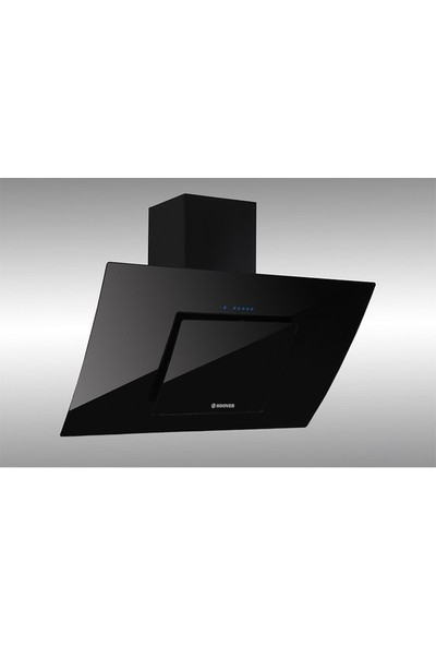 Hoover HDM 656 BTK 60 Cm Dekoratif Yatay Siyah Cam Davlumbaz