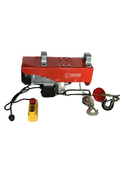 Cosso 600/1200 Kg 1800 W Elektrikli Vinç