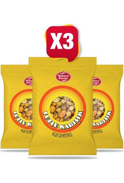 Malatya Pazarı Kuruyemişçilik Tuzlu Karışık Kuruyemiş 180 gr X 3 Adet