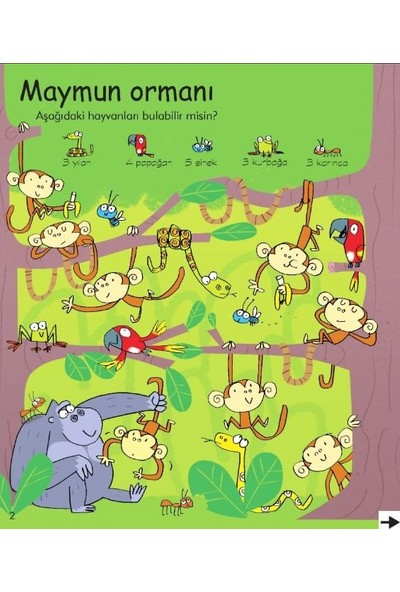Erkek Çocuklar İçin Etkinlik Kitabı
