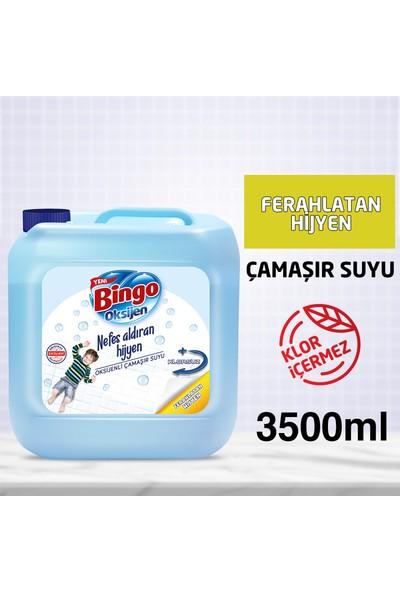 Bingo Oksijen Çamaşır Suyu Ferahlatan Hijyen 3,5 L
