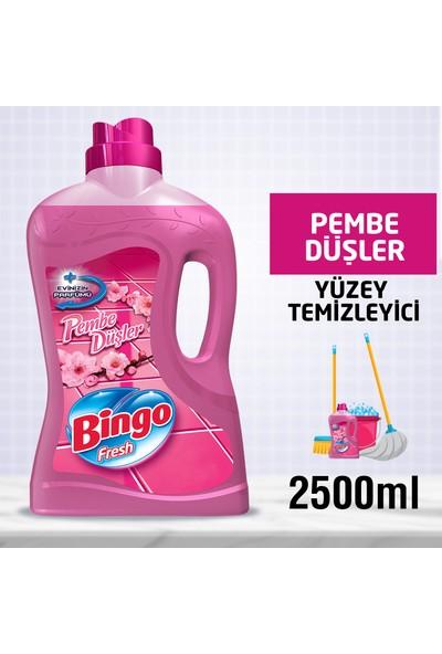 Bingo Fresh Yüzey Temizleyici Pembe Düşler 2,5L