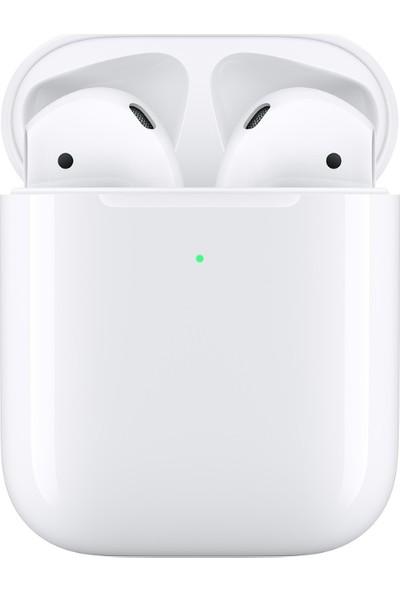Apple AirPods Bluetooth Kulaklık ve Kablosuz Şarj Kutusu MRXJ2TU/A (Apple Türkiye Garantili)