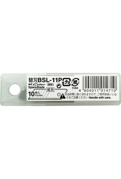 Nt Cutter Maket Bıçağı Yedeği 10 Lu Bsl-11P
