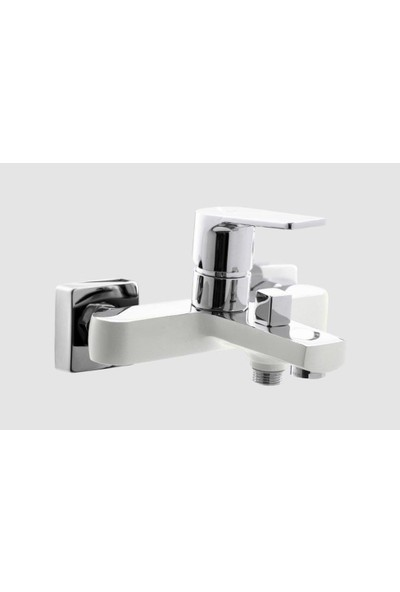 Adell Banyo Bataryası Azure Beyaz Krom