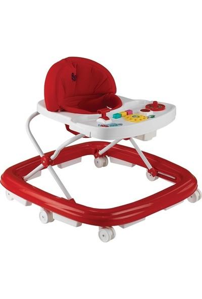Babyhope 216 Oyuncakli Yürüteç - Kırmızı