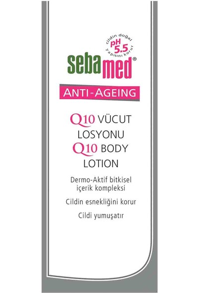 Sebamed Q10 Yaşlanma Karşıtı Vücut Losyonu 200 Ml