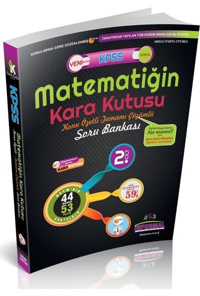 İnformal Yayınları 2019 KPSS Matematiğin Kara Kutusu 2.Cilt Soru Bankası