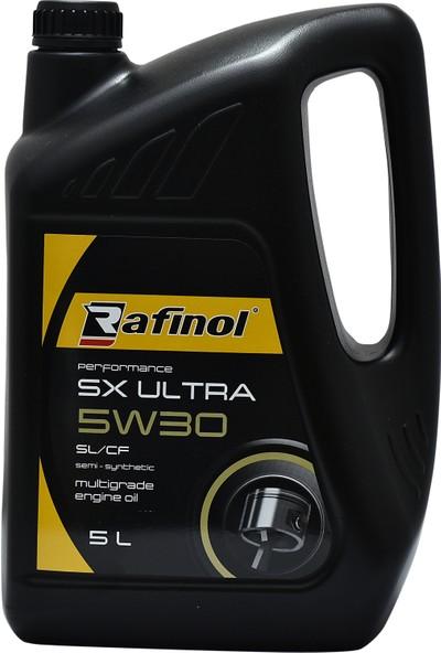 Rafinol SX Ultra 5W30 Semi Sentetik Sl / Cf 5 Lt Motor Yağı ( Üretim Tarihi: 2018 )