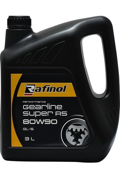 Rafinol Gearline Super R5 80W90 Gl 5 3 Lt Şanzıman Yağı