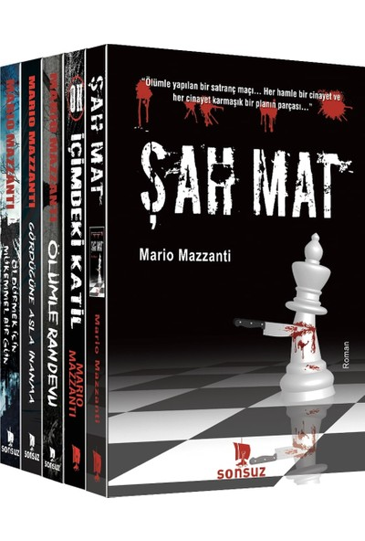 Mario Mazzanti Seti (5 Kitap Takım)