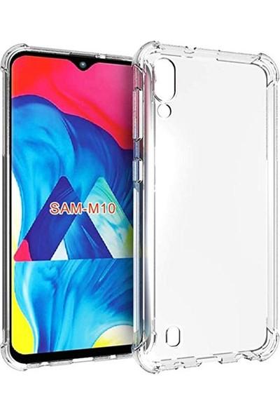Gpack Samsung Galaxy A10 Kılıf AntiShock Ultra Koruma+Nano Glass