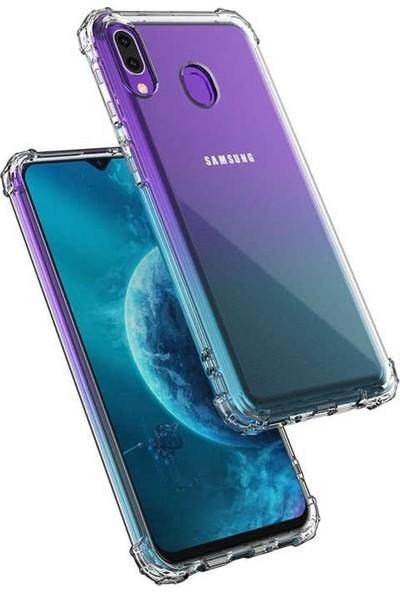 Gpack Samsung Galaxy A30 Kılıf AntiShock Ultra Koruma+Nano Glass