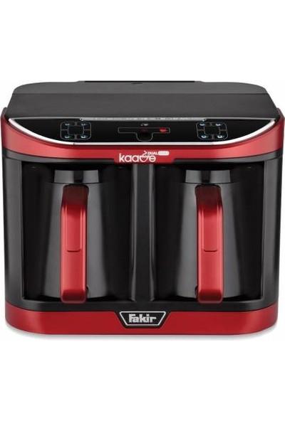 Fakir Kaave Dual Pro Kırmızı İkili Kahve Makinesi