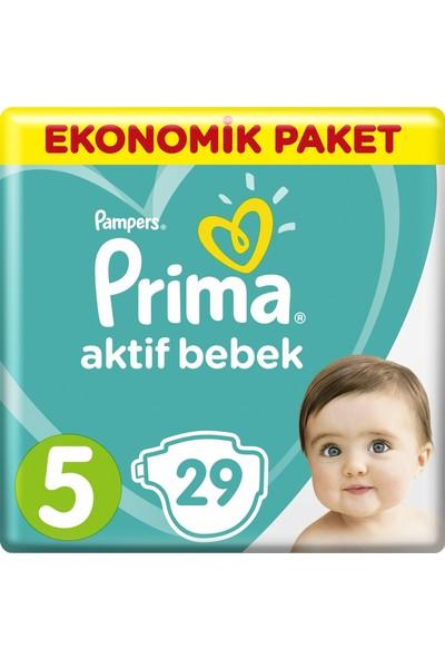 Prima Aktif Bebek Junior 5 Beden 29'Lu Bebek Bezi