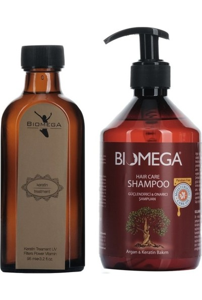 Biomega Keratin Serum 95 ml+şampuan 500 ml
