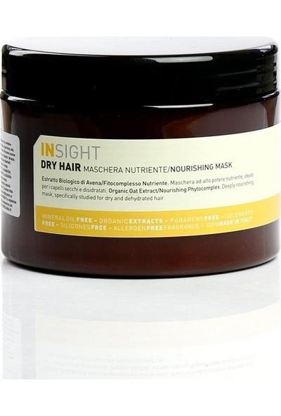 Insight Dry Hair Kuru Mat Saçlar İçin Besleyici Maske 500 ml