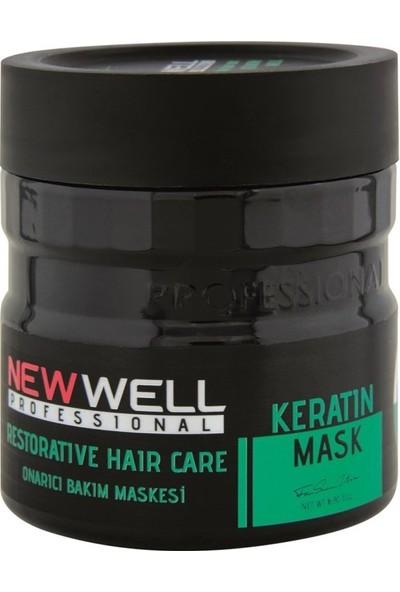 Newwell Keratin Onarıcı Saç Bakım Maskesi 500 ml
