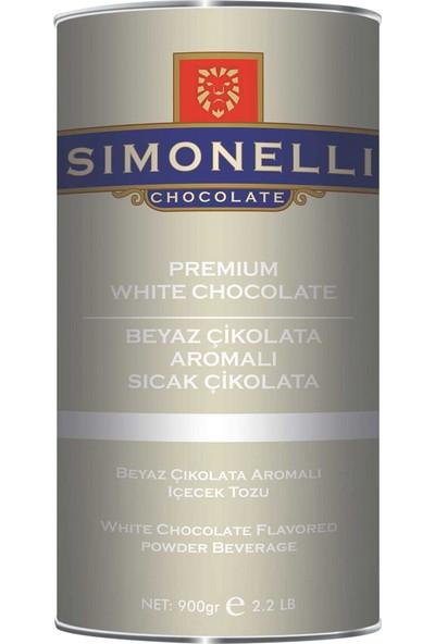 Simonelli Sıcak Çikolata Beyaz Çikolatalı 900 gr