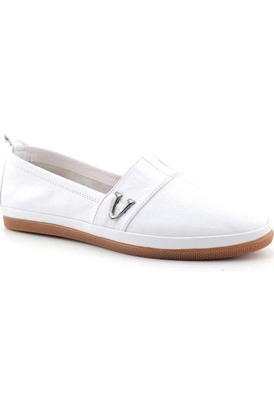 Estile 61 Kadın Hakiki Deri Ayakkabı