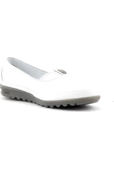 Evida 0117 Hakiki Deri Kadın Ayakkabı