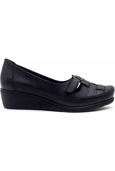 Evida 2575 Hakiki Deri Kadın Ayakkabı