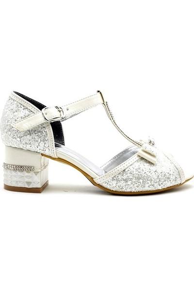 Harli 022 Filet Kız Çocuk Topuklu Ayakkabı