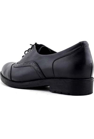 Evida 2351 Hakiki Deri Kadın Ayakkabı