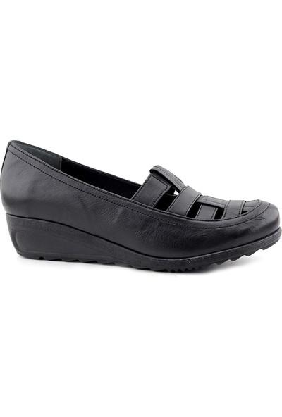 Evida 2167 Hakiki Deri Kadın Ayakkabı