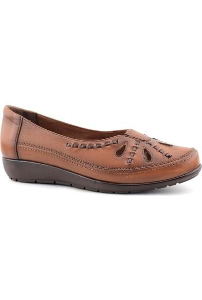 Evida 2270 Hakiki Deri Kadın Ayakkabı