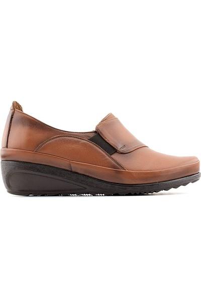 Evida 2588 Hakiki Deri Kadın Ayakkabı