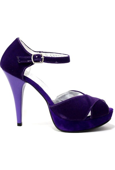 Uğurlu 493 Kadın Platform Topuklu Ayakkabı