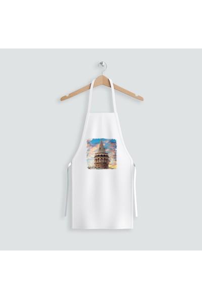 Hediye35 Galata Kulesi Mutfak Önlüğü