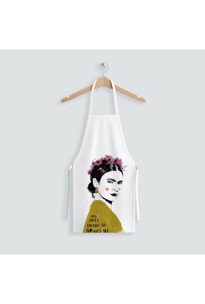 Hediye35 Frida Meet Mutfak Önlüğü
