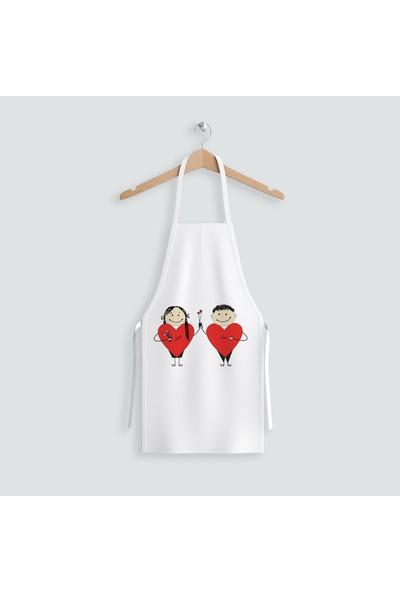 Hediye35 Love Mutfak Önlüğü