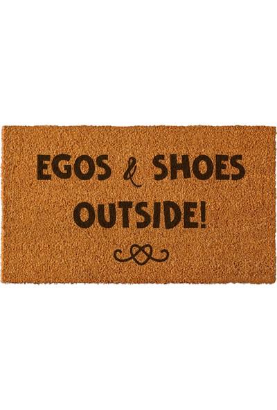 Paspas Yap Kapı Önü Paspası Egos and Shoes Modeli 40x70cm