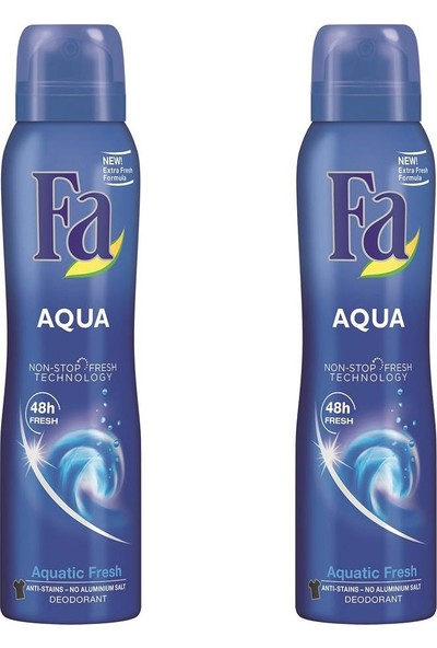 Fa Aqua Deo Spray 150 ml 2'li Paket