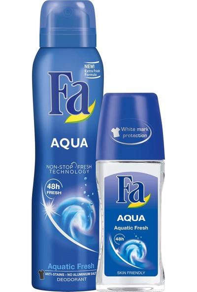 Fa Aqua Deo Spray 150 ml +Fa Aqua Roll-On 50 ml