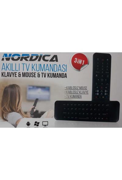 Nordica Air Mouse, Kablosuz Klavye, Akıllı Kumanda