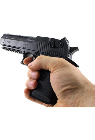 Boncuk Atan Desert Eagle Oyuncak Silah 18 cm