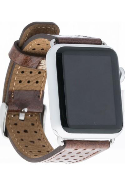 Bouletta Apple Watch Deri Kordon 42/44mm-RBT3 87003 Kahve