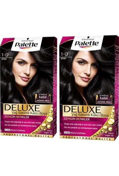 Palette Deluxe 1-0 Siyah x 2 Paket