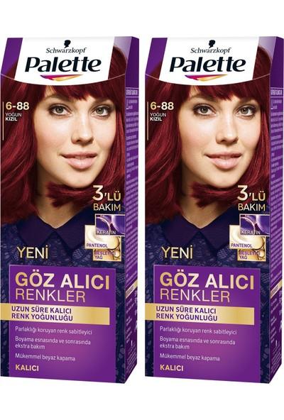 Palette Yoğun Göz Alıcı Renk Saç Boyas 5-68 Kestane x 2 Paket