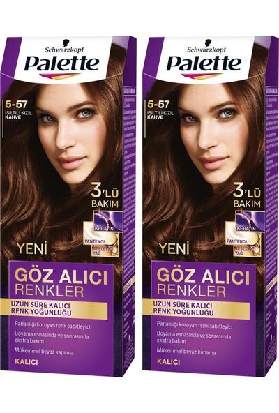Palette Yoğun Göz Alıcı Renk Saç Boyas 6-70 Çilekli Çikolata x 2 Paket