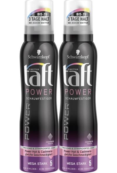Taft Power Kaşmir Köpük 150 ml x 2 Paket