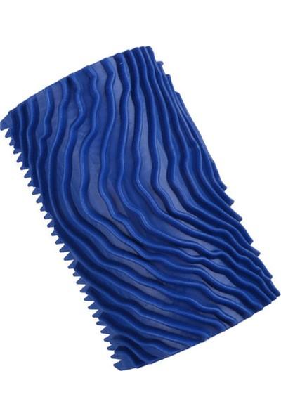 Doku Tarağı - Wood Grainer - Mavi
