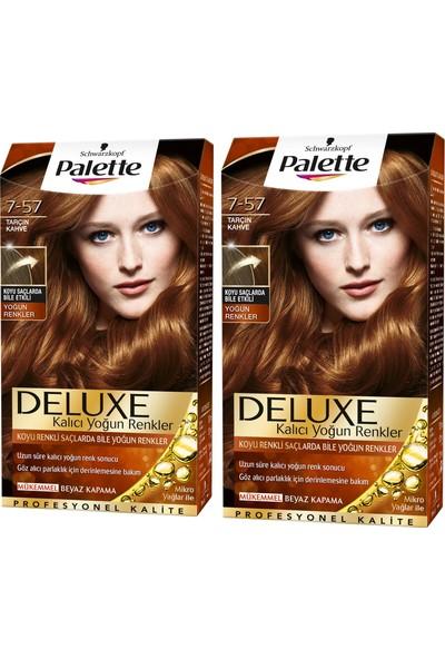 Palette Deluxe Yoğun Renkler 7-57 Tarçın Kahve x 2 Paket