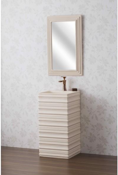 Eva Concetto E-333 Monoblok Lavabo+Ayna