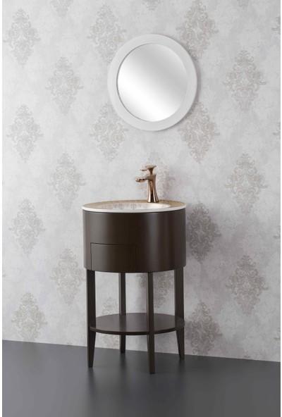 Eva Concetto E-506K Masif Kaplama Banyo Dolabı